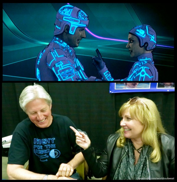Bruce and Cindy -- 11-16-13 TRON Parallel