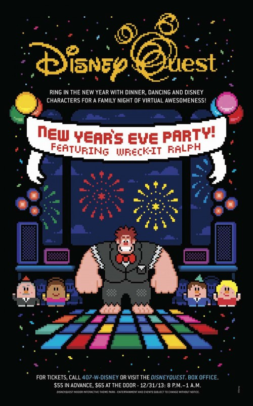 Counting Down to New Year's Eve Fun at DisneyQuest at Walt Disney World Resort