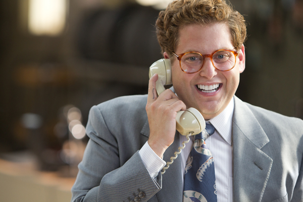 Jonah Hill is Donnie Azoff in THE WOLF OF WALL STREET