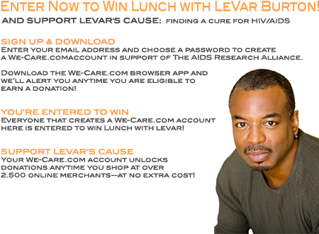 WIN a Lunch with LeVar!