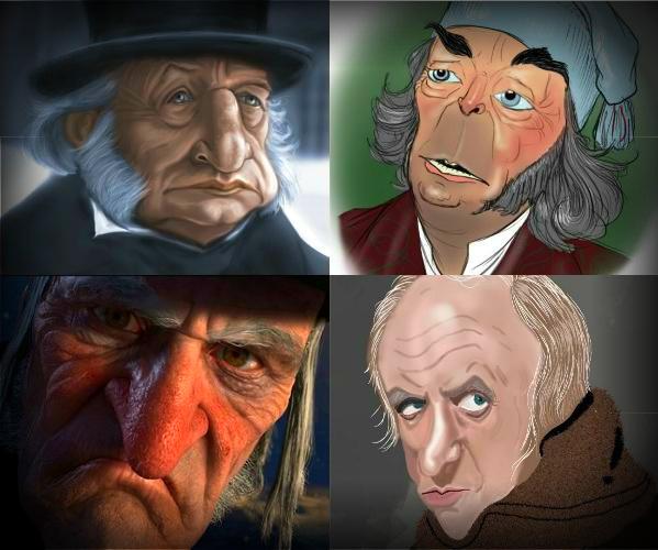 various scrooges