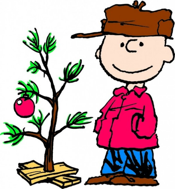 Charlie Brown's Christmas branch.
