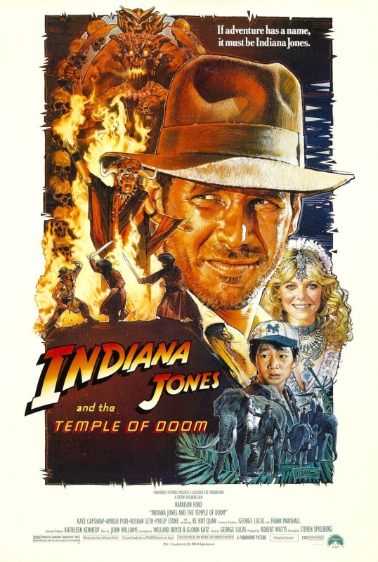 Indiana Jones and the Temple of Doom - Drew Struzan