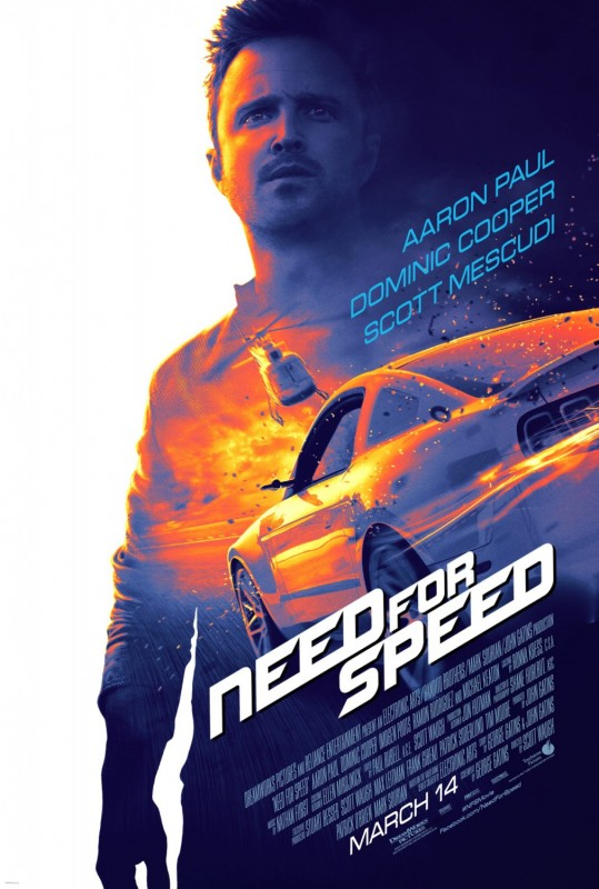 I feel the need, the need for a Need for Speed movie...
