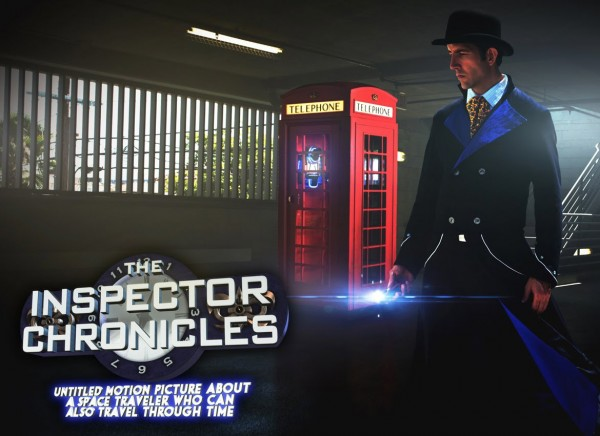 Sylvester McCoy joins the cast of The Inspector Chronicles!