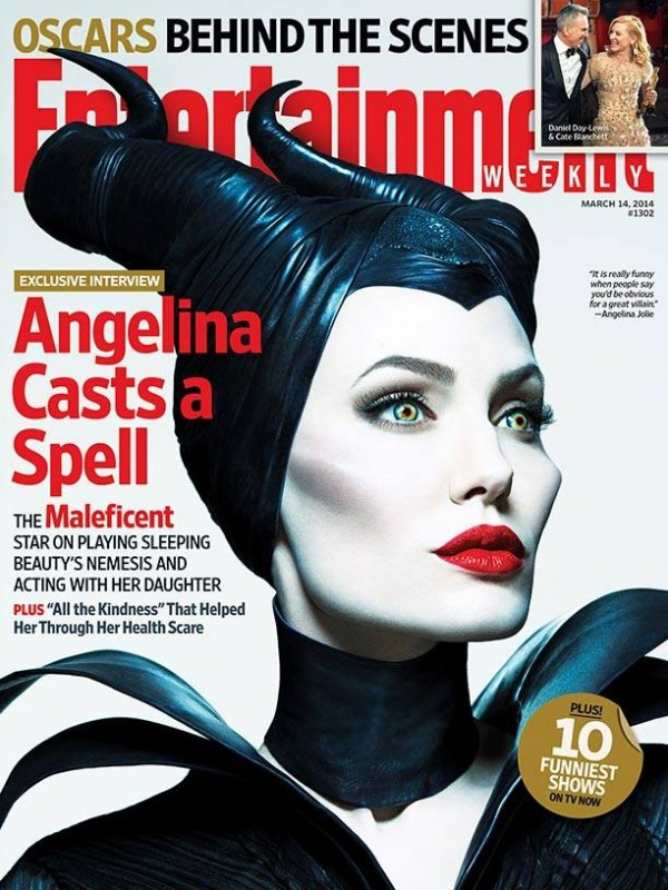 Angelina Casts a Spell in the latest EW Magazine!