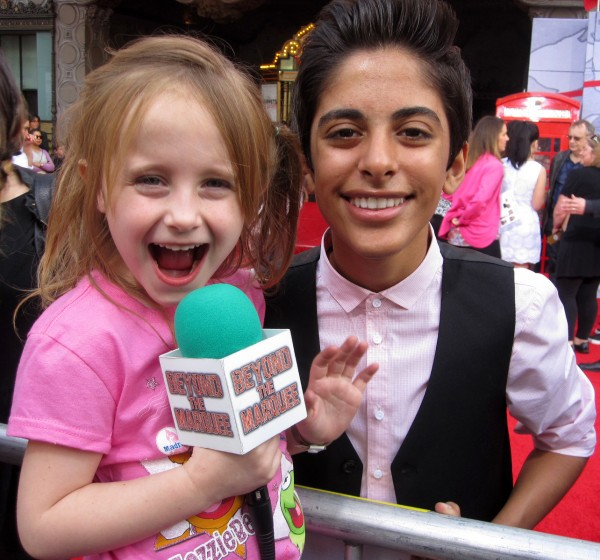 "Karan Brar from Disney Channel's ""Jessie"" and Lindalee"