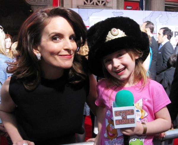 Tina Fey (Nadya, in Muppets Most Wanted) and Lindalee