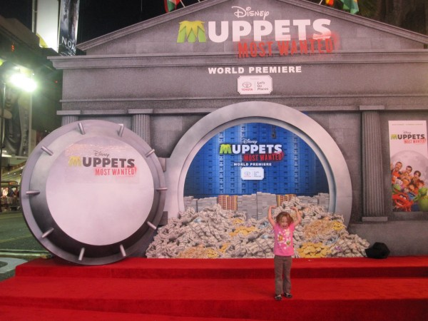 A fun night on the Red Carpet for the Muppets World Premiere