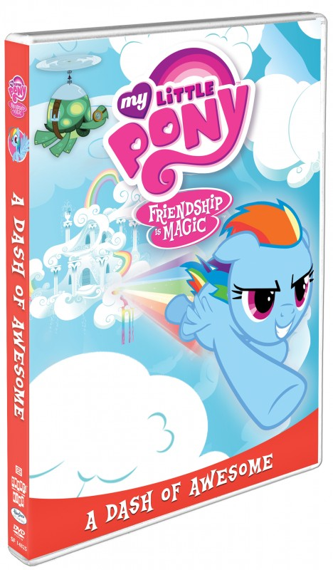 MY LITTLE PONY: A DASH OF AWESOME on DVD 3/25!