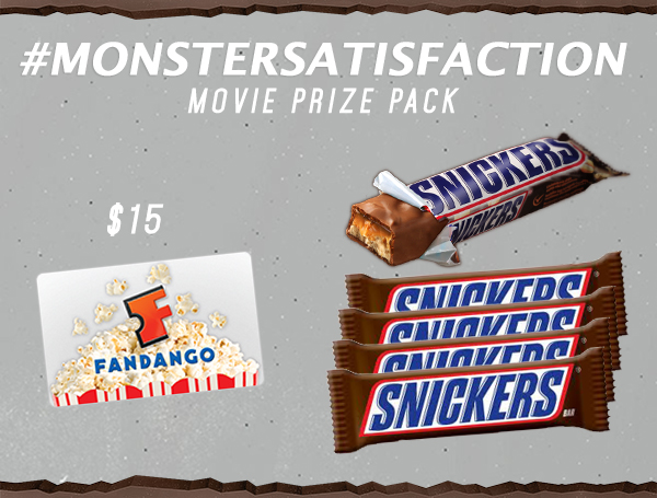 Snickers Ultimate Movie Pack Giveaway