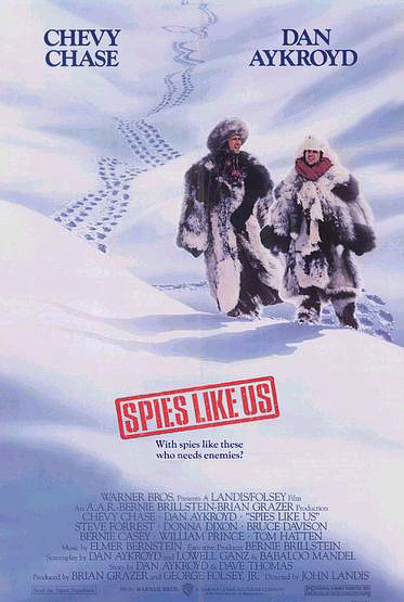 Spies Like Us Poster - BTM