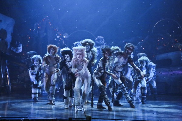The La Mirada Theater of the Performing Arts cast of CATS (photo by Michael Lamont)