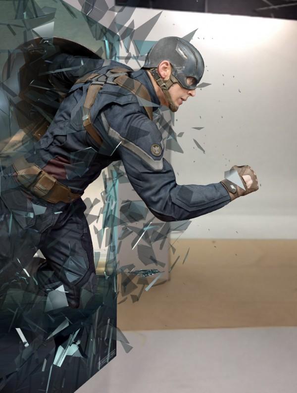 The Captain America Experience App