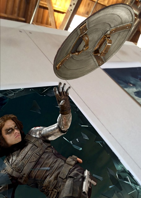 The Winter Soldier in the Captain America Experience