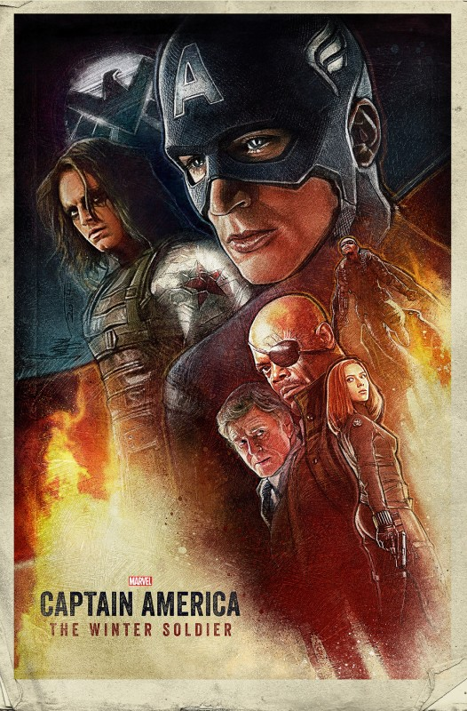 Captain America The Winter Soldier by Paul Shipper