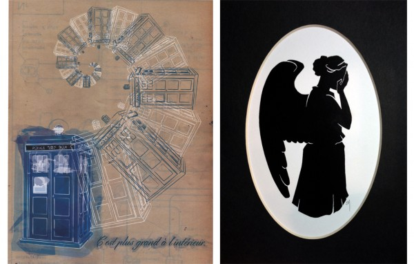 Win these two AWESOME Doctor Who Original Fan Art pieces from local Southern California artists!