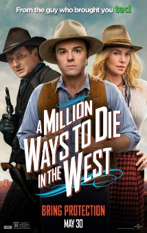 MILLION WAYS DIE poster