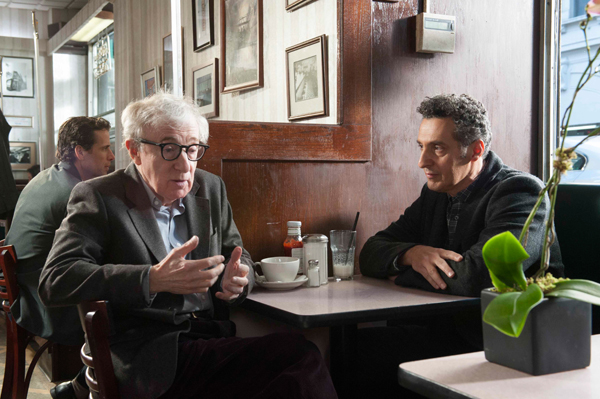Murray (Woody Allen) and Norman (John Turturro) set up a plan