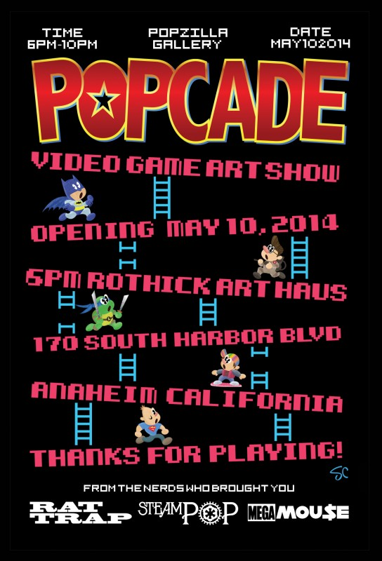 POPcadeCard