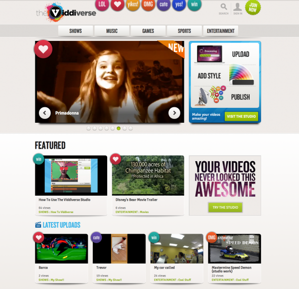 VIDDIVERSE, A Safe, Online Video Network EXCLUSIVELY For