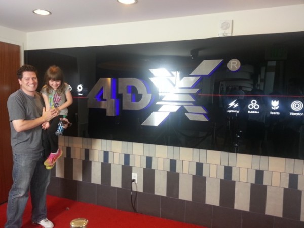 A Daddy and Daughter 4DX Experience Story