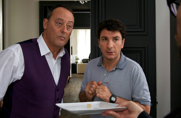 Alexandre Lagarde (Jean Reno)  and Jacky (Michael Youn)  in Le Chef