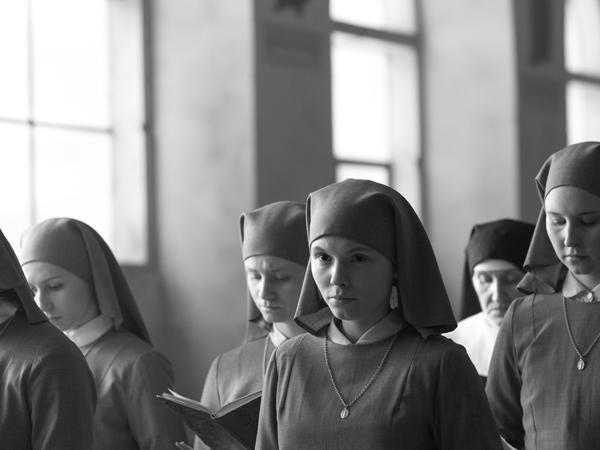 Ida (Trzebuchowska) at the nunnery