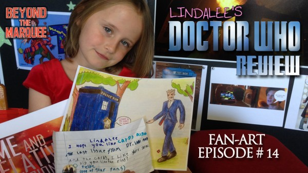 Lindalee's Doctor Who FAN-ART Review, Episode 14 (Season 1 Finale)