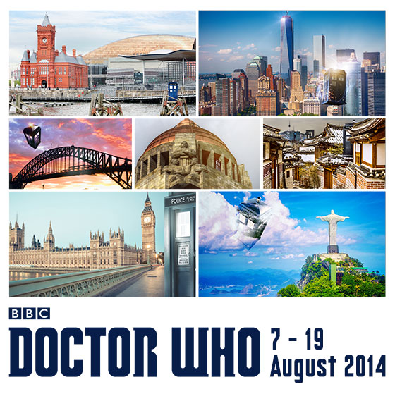 DOCTOR WHO: THE WORLD TOUR TAKES CAPALDI, COLEMAN AND MOFFAT AROUND THE GLOBE