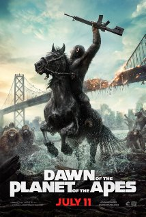 DAWN PLANET APES poster