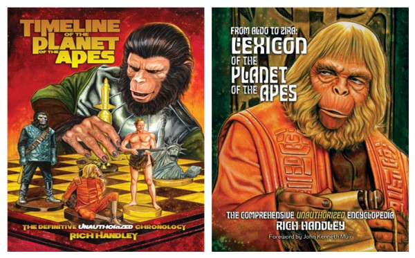Win this pair of PLANET OF THE APES Books this week on FREE STUFF FRIDAY!