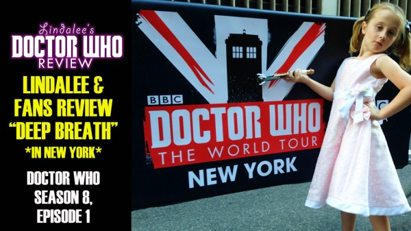 "Take a ""Deep Breath"" and check out Lindalee's review of  Season 8, Episode 1 of Doctor Who w/ fellow Whovians in New York City"