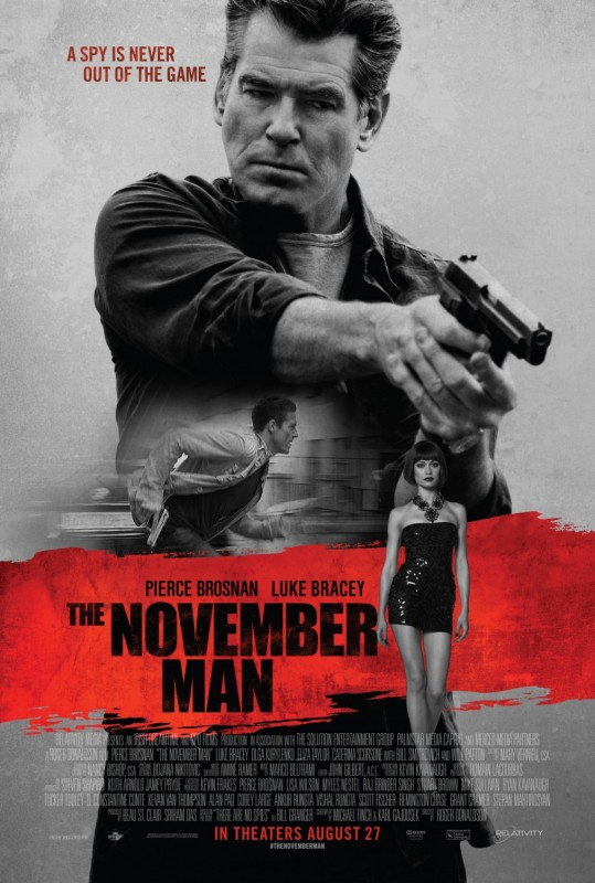 The November Man, in theaters 8/27/2014