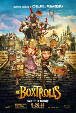 BOXTROLLS poster 1
