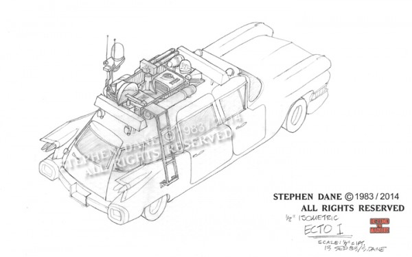 Isometric of the Ecto-1