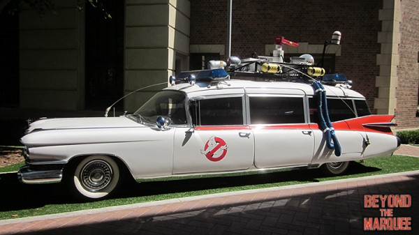 The original Ecto 1 on the Sony Studios lot today