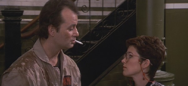 "Smoking in Ghostbusters ... ""like a Howard Hawks movie."""
