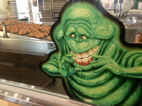 Oh Slimer, you are in Heaven aren't you!?!?