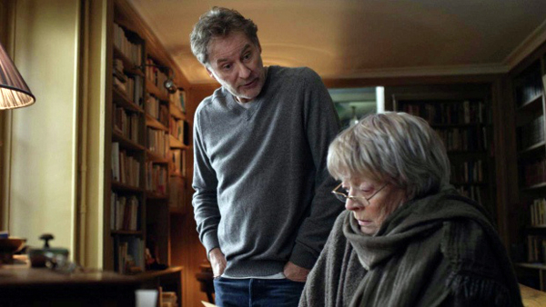 Kevin Kline as Mathias Gold and Dame Maggie Smith as Mme Girard in My Old Lady