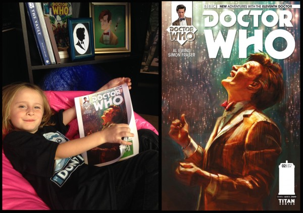 Lindalee reviews the 10th and 11th Doctor's latest Comic Book Adventures