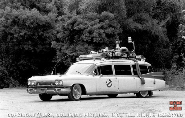 The Ecto-1 in Los Angeles at The Burbank Studios