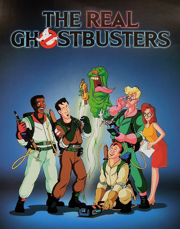 'The Real Ghostbusters' animated show.