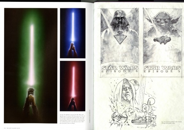 John's amazing imagery on various Star Wars projects