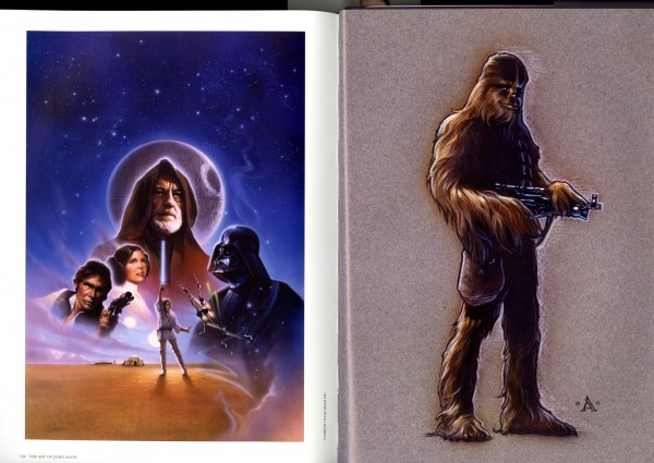 Gorgeous paintings of the classic Star Wars cast