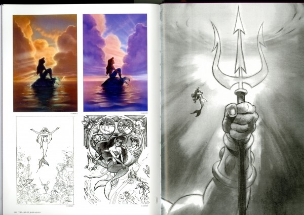 Various explorations for Disney's The Little Mermaid