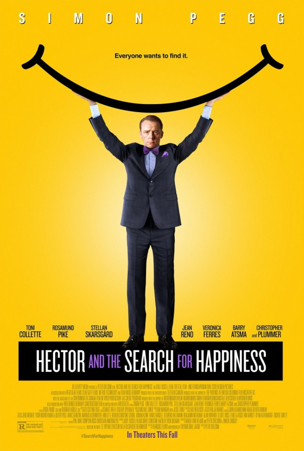 Hector and the Search for Happiness One-Sheet Poster