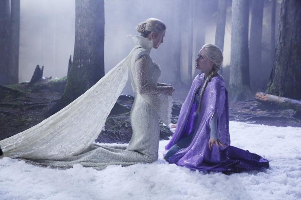 Next week the Snow Queen's motives and means will come to the fore as she shares an intense conversation with Elsa.