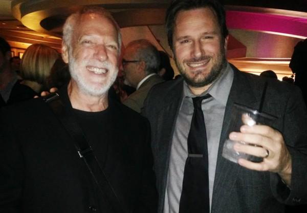 SAUL BASS Award Winner, Drew Struzan and Beyond the Marquee's Founder/Creative Director, Steve Czarnecki