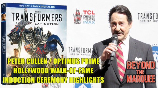 Actor Peter Cullen at his Hollywood Walk of Fame Induction Ceremony